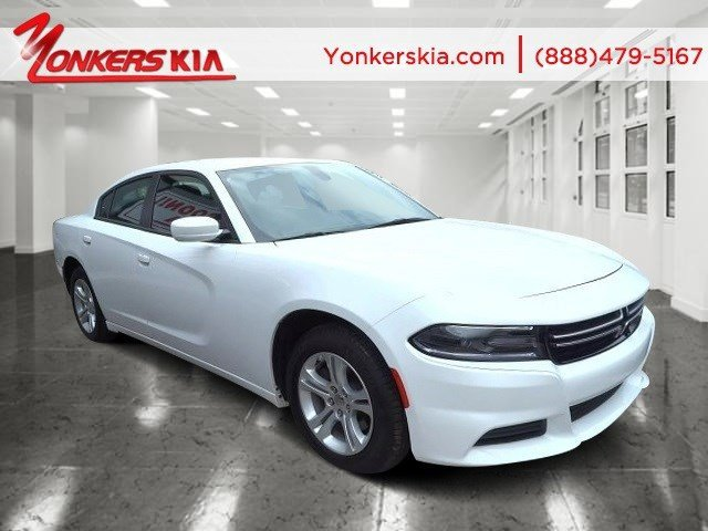 2015 Dodge Charger SE Bright White ClearcoatBlack V6 36 L Automatic 35330 miles Yonkers Kia i