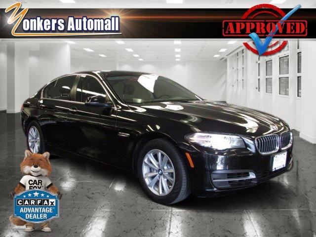 2014 BMW 5 Series 528i xDrive Black Sapphire MetallicAmaro Brown V4 20 L Automatic 36709 miles