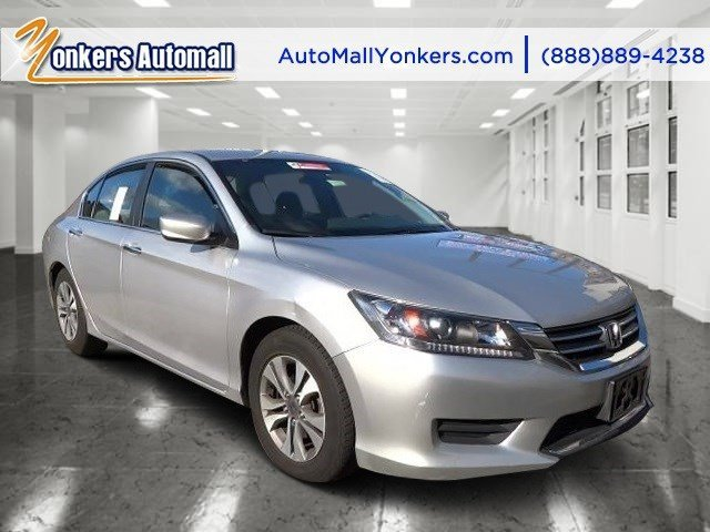2013 Honda Accord Sdn LX Alabaster Silver MetallicGray V4 24L Automatic 46273 miles Clean car
