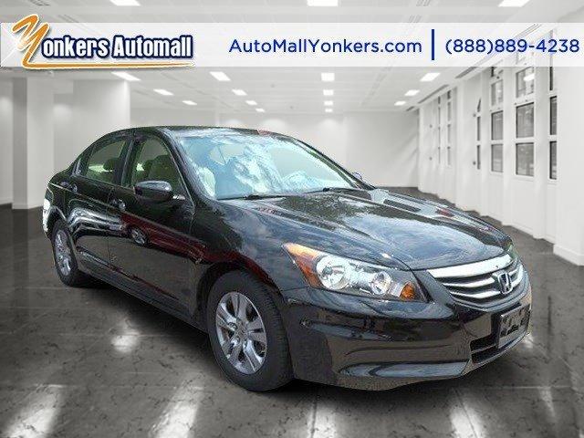 2012 Honda Accord Sdn LX Premium Crystal Black PearlIvory V4 24L Automatic 28282 miles Yonker