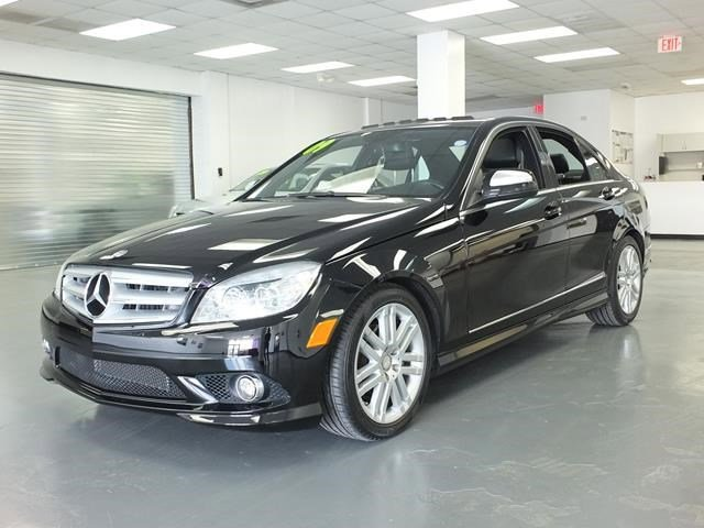2009 Mercedes C-Class Black V6 30L Automatic 103136 miles Delivers 25 Highway MPG and 17 City