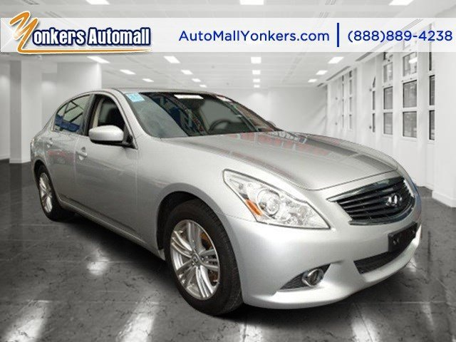 2012 Infiniti G37 Sedan x Liquid PlatinumGraphite V6 37L Automatic 48318 miles 1 owner clean