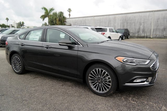 2017 Ford Fusion SE MagneticEbony V4 15 L Automatic 5918 miles 2017 Ford Fusion SE in Magneti