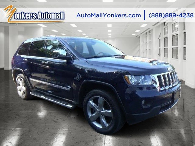 2013 Jeep Grand Cherokee Overland True Blue PearlBlackNew Saddle V6 36L Automatic 46817 miles