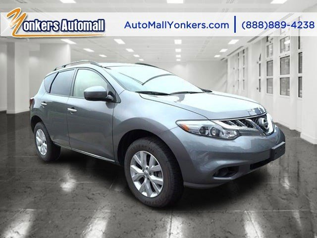2013 Nissan Murano SV Gun MetallicBlack V6 35L Automatic 46708 miles Yonkers Auto Mall is the