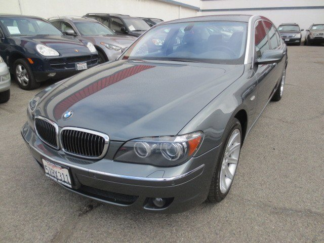2006 BMW 7 Series 750Li Titanium Gray MetallicBasalt GrayFlannel Gray V8 48L Automatic 89950 m