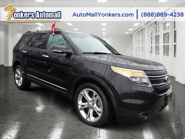 2013 Ford Explorer Limited Tuxedo Black MetallicCharcoal Black V6 35L Automatic 25456 miles 1