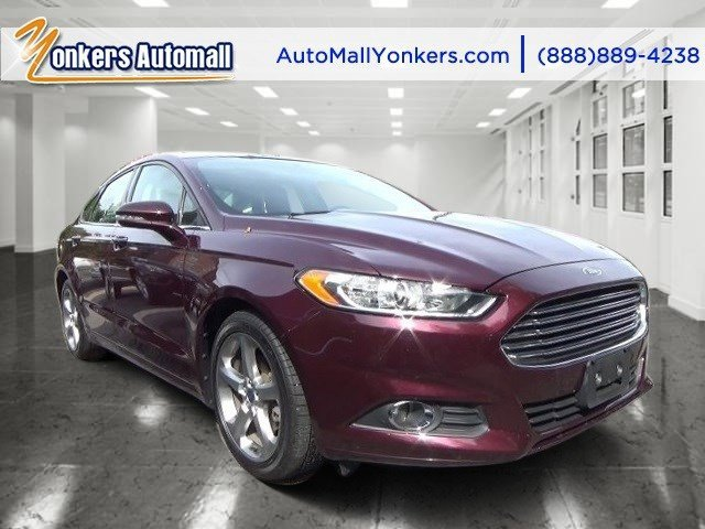 2013 Ford Fusion SE Ruby Red Metallic Tinted ClearcoatCharcoal Black V4 16L Automatic 34686 mi