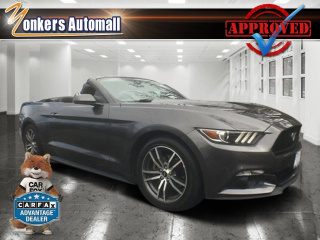 2016 Ford Mustang EcoBoost Premium Guard MetallicEbony V4 23 L Automatic 26307 miles Calling