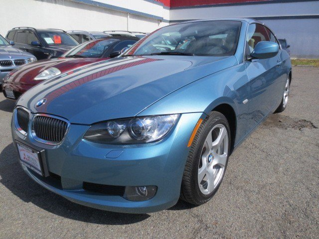 2010 BMW 3 Series 328i Convertible Atlantic Blue MetallicCream Beige V6 30L Manual 29806 miles