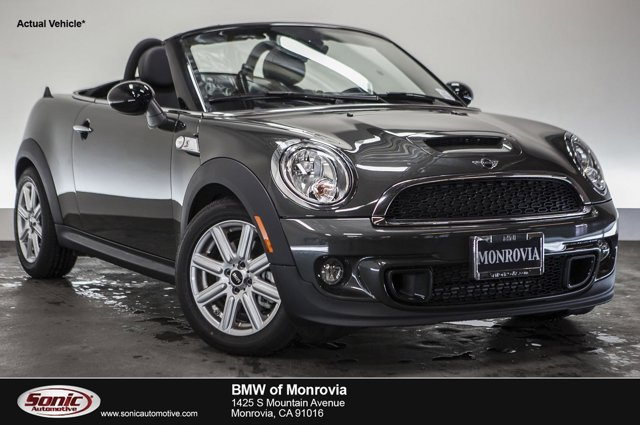 2015 MINI Cooper Roadster S Eclipse Gray MetallicCarbon Black V4 16 L Automatic 0 miles  Turb
