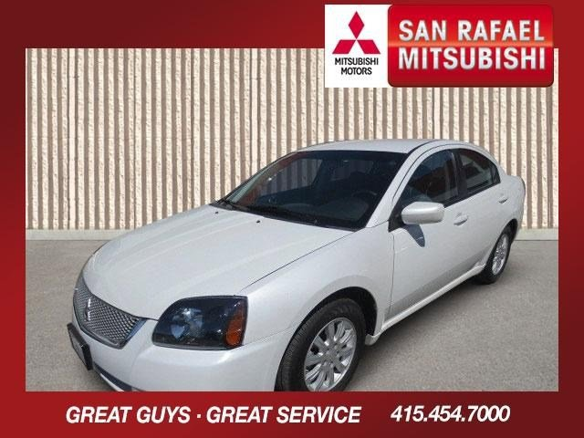 2011 Mitsubishi Galant FE White PearlMedium Gray V4 24L Automatic 46308 miles Here is the 2011