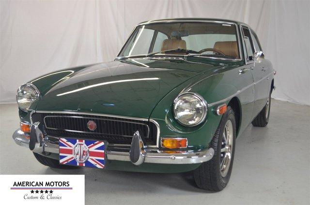 1972 MG B GT British Racing GreenTan V  Manual 87016 miles What are rare find American Motors
