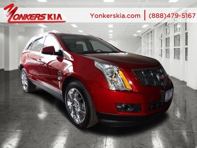 2012 Cadillac SRX Performance Collection Crystal Red TintcoatShale wBrownstone accents V6 36L