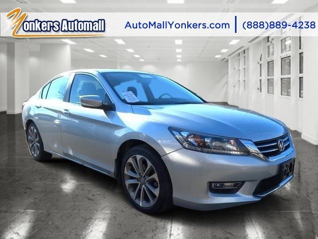 2013 Honda Accord Sdn Sport Alabaster Silver MetallicBlack V4 24L Automatic 38895 miles 1 own