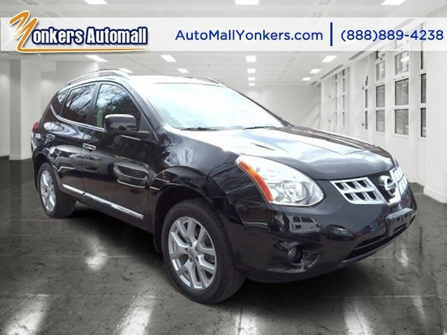 2013 Nissan Rogue SL Super BlackBlack V4 25L Automatic 44840 miles Navigation NAV AWD Fu