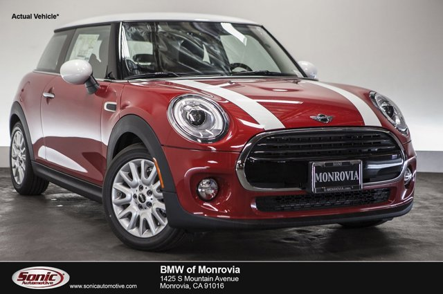 2016 MINI Cooper Hardtop 2dr HB Blazing Red MetallicCarbon Black V3 15 L Automatic 0 miles  T