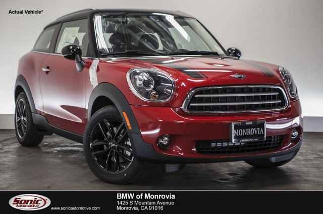 2016 MINI Cooper Paceman FWD 2dr Blazing Red MetallicCarbon Black V4 16 L Automatic 0 miles