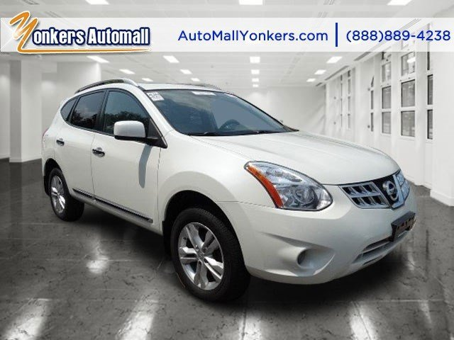 2012 Nissan Rogue SV Pearl WhiteGray V4 25L Automatic 52090 miles Yonkers Auto Mall is the pr