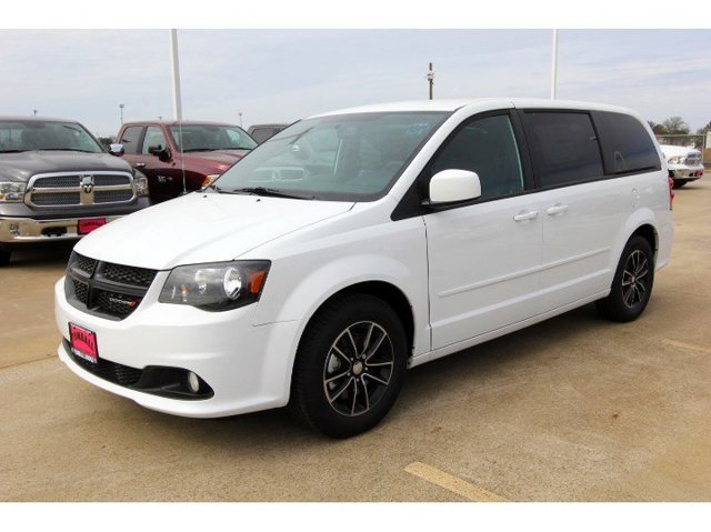 2017 Dodge Grand Caravan SXT White Knuckle ClearcoatBlack V6 36 L Automatic 13 miles  QUICK O