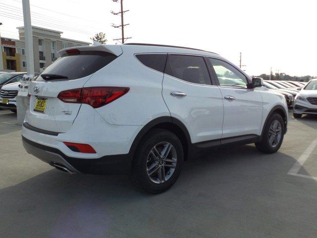 2017 Hyundai Santa Fe Sport 24L WhiteTan V4 24 L Automatic 12 miles Woodland Hills Hyundai