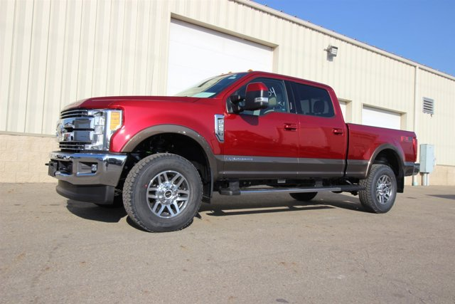 2017 Ford Super Duty F-250 SRW Ruby Red V8 67 L Automatic 17 miles  Four Wheel Drive  Tow Hi