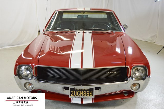1968 American Motors AMX 390 Gorgeous Condition Rare 4 Red V  Manual 32159 miles We have a spe