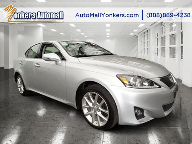 2012 Lexus IS 250 wNavigation Tungsten PearlLight Gray V6 25L Automatic 34712 miles 1 owner