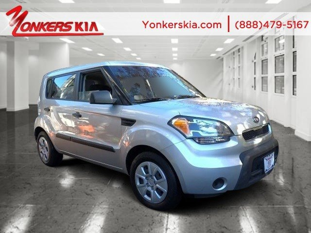 2011 Kia Soul Bright SilverBlack seat trim V4 16L Manual 46160 miles Drivers wanted for this