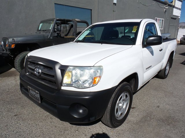 2010 Toyota Tacoma Super WhiteWHITE V4 27L Manual 147064 miles Choose from our wide range of