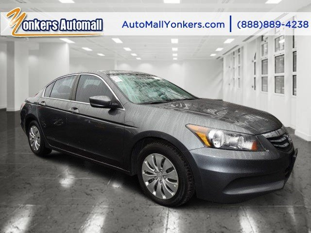 2012 Honda Accord Sdn LX Polished Metal MetallicBlack V4 24L Automatic 41558 miles  BLACK SEA