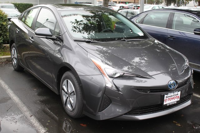 2017 Toyota Prius Four 01G3Magnetic Gray MetallicBlack V4 18 L Variable 8 miles  PAINT PROTE