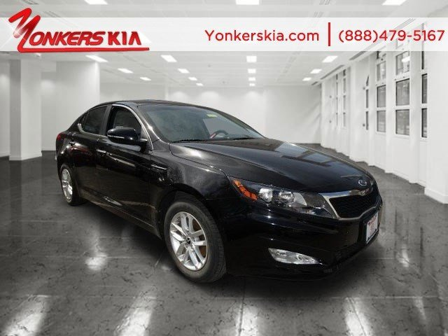 2013 Kia Optima LX Ebony BlackGray V4 24L Automatic 18548 miles  CONVENIENCE PKG -inc 8-way
