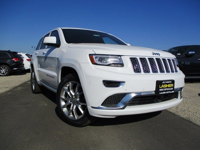 2016 Jeep Grand Cherokee Summit Bright White ClearcoatBlack V6 36 L Automatic 3 miles  TRANSM