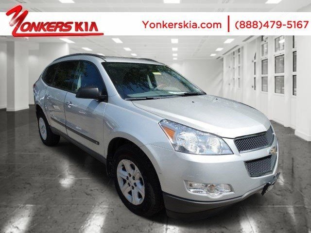 2010 Chevrolet Traverse LS Silver Ice MetallicDk GrayLt Gray V6 36L Automatic 81462 miles 20