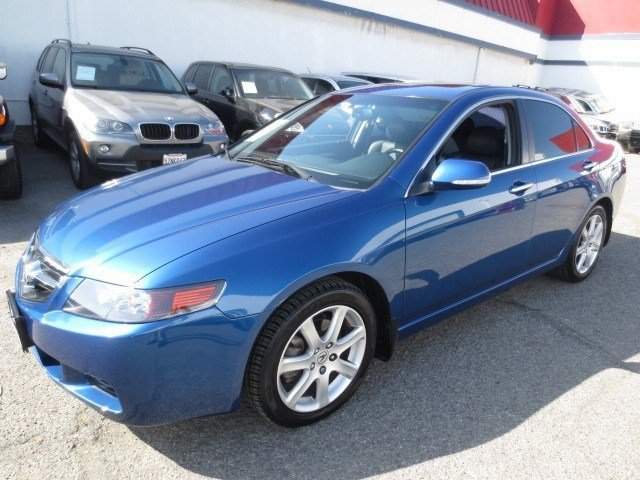 2004 Acura TSX wNavigation Arctic BlueEbony V4 24L Automatic 82565 miles Loaded Up 2004 Acura