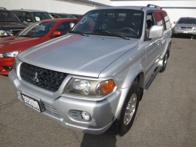 2002 Mitsubishi Montero Sport LTD Munich SilverGray V6 35L Automatic 137870 miles LOCAL TRADE