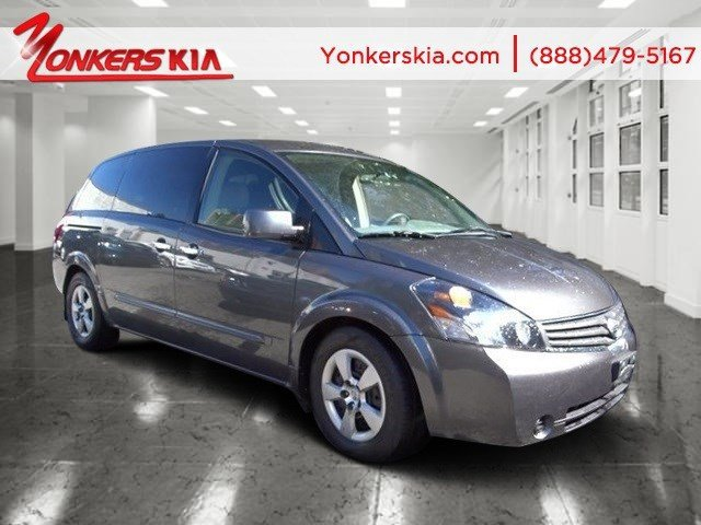 2008 Nissan Quest Base Smoke MetallicGray V6 35L Automatic 107938 miles Yonkers Kia is the la