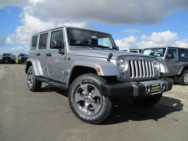 2016 Jeep Wrangler Unlimited Sahara Billet Silver Metallic Clearcoat V6 36 L Manual 1 miles