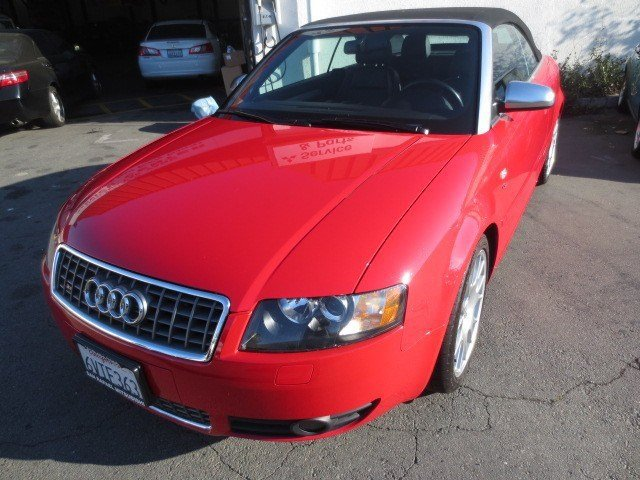 2006 Audi S4 Cabriolet Brilliant RedBlackSilver V8 42L Automatic 35730 miles NEW ARRIVAL LOW