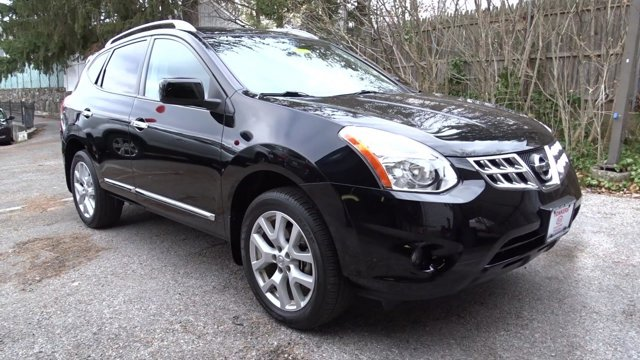 2011 Nissan Rogue S BlackBlack V4 25L Variable 20905 miles  All Wheel Drive  Tow Hooks  Powe