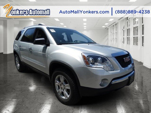 2012 GMC Acadia SL Quicksilver MetallicEbony V6 36L Automatic 47078 miles Leather seats AWD