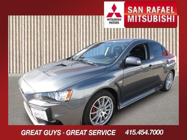 2010 Mitsubishi Lancer Evolution SE Graphite GrayBlack V4 20L Automatic 12485 miles 1-Owner 20