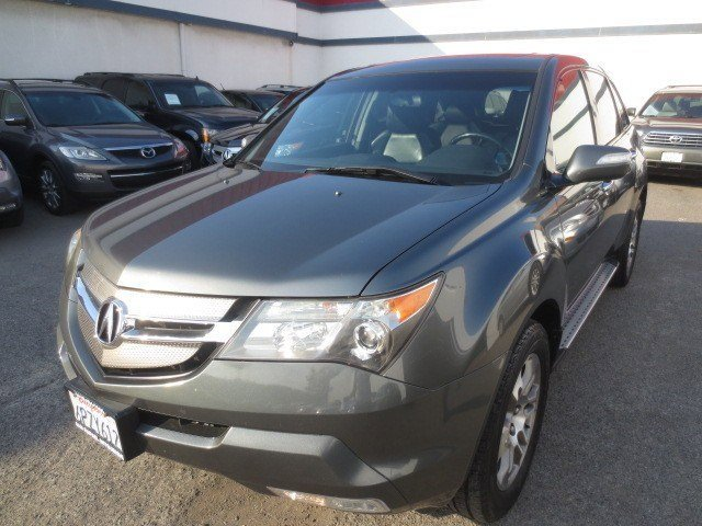 2007 Acura MDX Nimbus Gray MetallicEbony V6 37L Automatic 82001 miles This 2007 Acra MDX is Eq