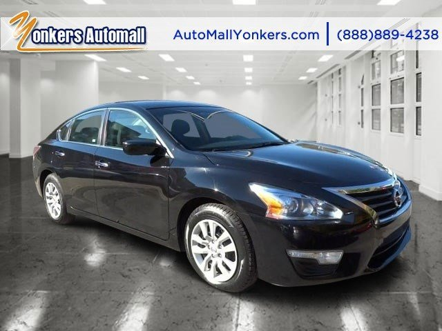 2014 Nissan Altima 25 S Super BlackCharcoal V4 25 L Automatic 41644 miles Yonkers Auto Mall