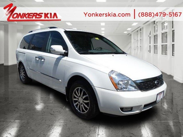 2012 Kia Sedona EX WhiteGray V6 35L Automatic 41162 miles Yonkers Kia is the largest volume K