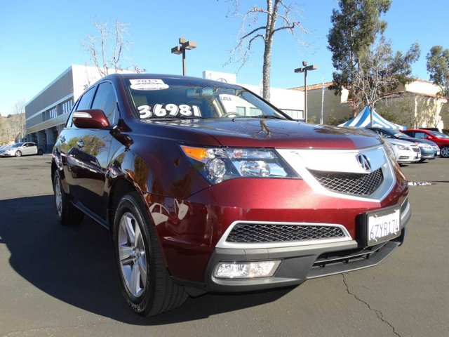 2013 Acura MDX RedParchment V6 37L Automatic 21888 miles BACK UP CAMERA HEATED LEATHER SEA