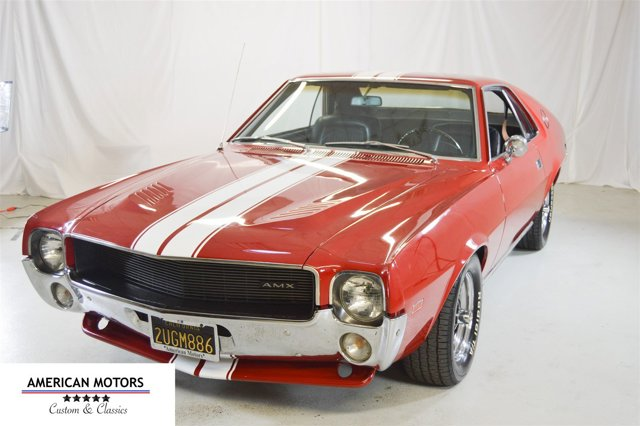 1968 American Motors Javelin Red V  Manual 32159 miles We have a special car here its a 1968
