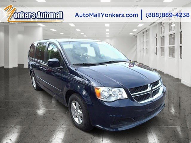 2013 Dodge Grand Caravan SXT True Blue PearlBlackSandstorm V6 36L Automatic 43569 miles  3rd