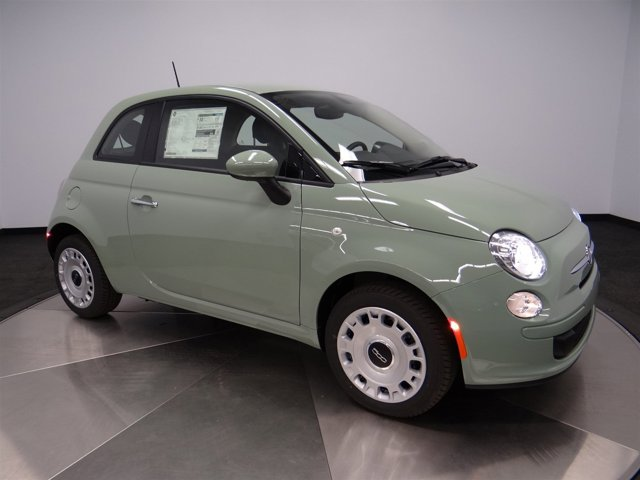 2016 FIAT 500 Pop Verde Chiaro Light GreenA7X9 V4 14 L Automatic 9 miles  22A EAB DF1 PGA A